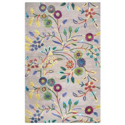 Eden Harbor Multicolor 5 ft. x 8 ft. Rectangle Area Rug