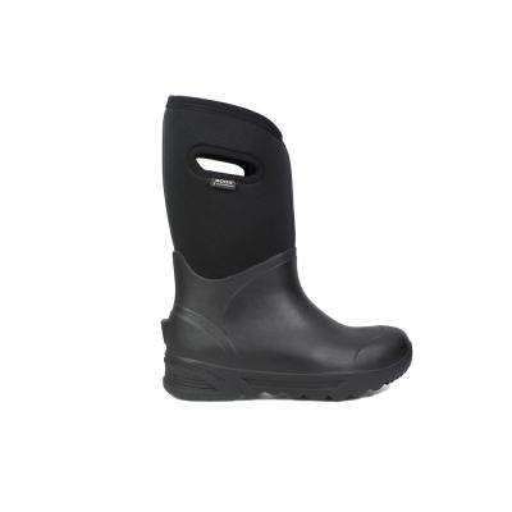 Bozeman Tall Men 14 in. Size 8 Black Rubber with Neoprene Waterproof Boot