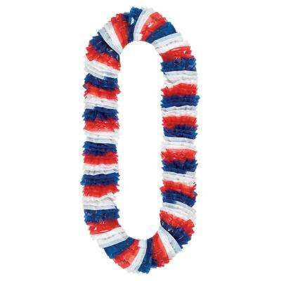 30 in. Red, White and Blue Leis (24-Pack)
