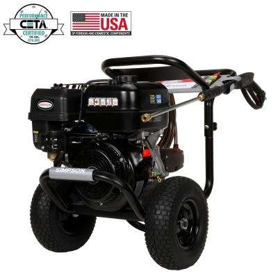 PowerShot 4400 PSI at 4.0 GPM SIMPSON 420 with AAA Triplex Pump Professional Gas Pressure Washer