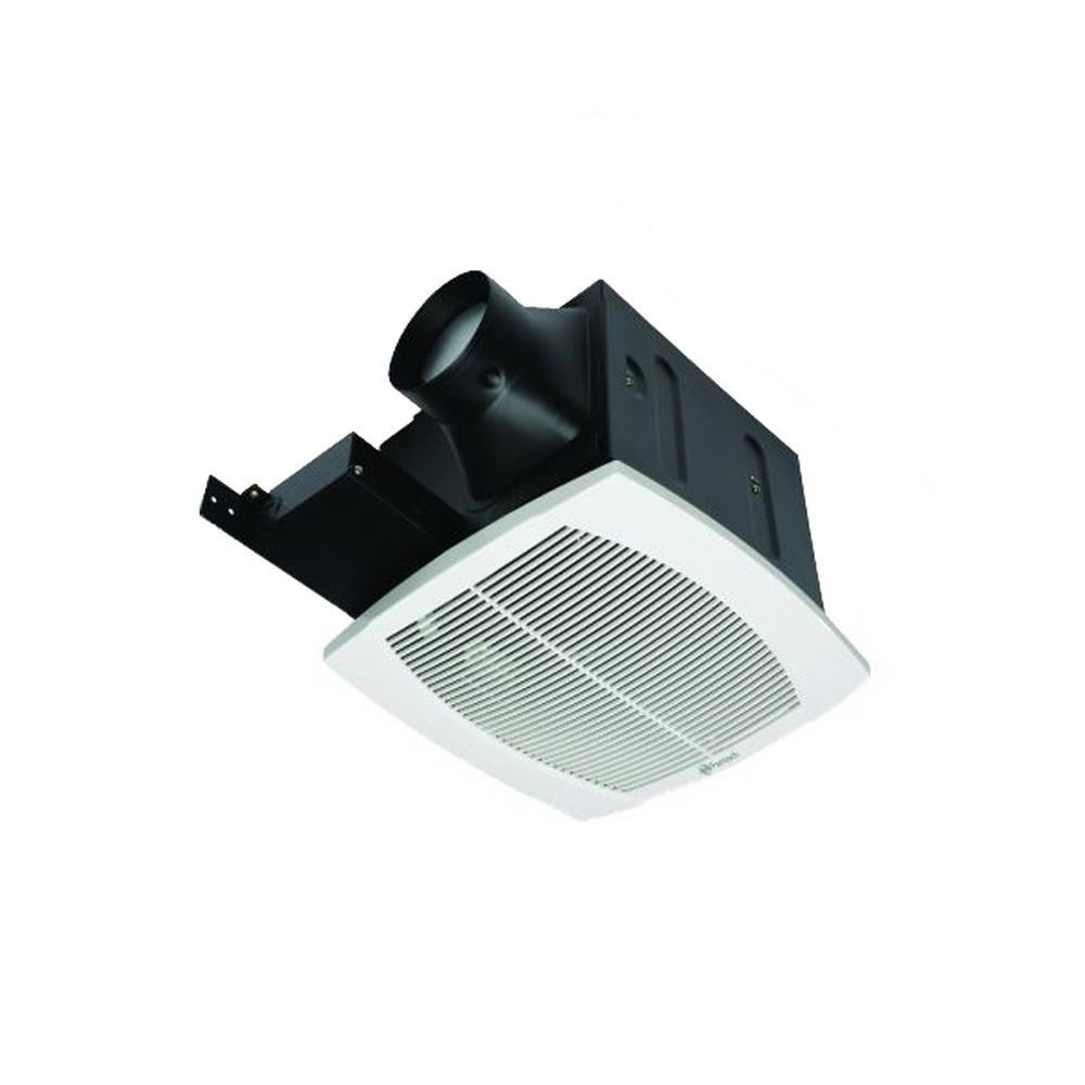 Fantech FQ Quiet 110 CFM Ceiling Bathroom Exhaust Fan, Energy Star FQ 110    The Home Depot