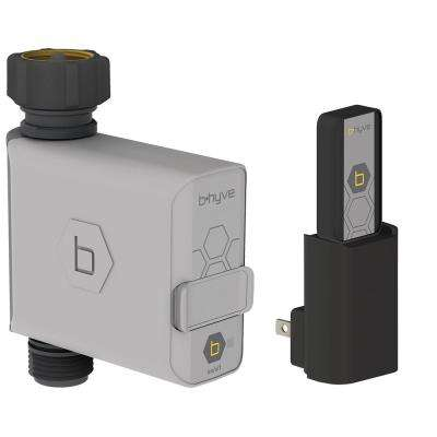 B-Hyve Smart Hose Faucet Timer with Wi-Fi Hub