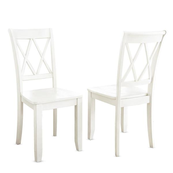 Steve Silver Company Aida Vanilla Side Chair (Set of 2) AA500SV