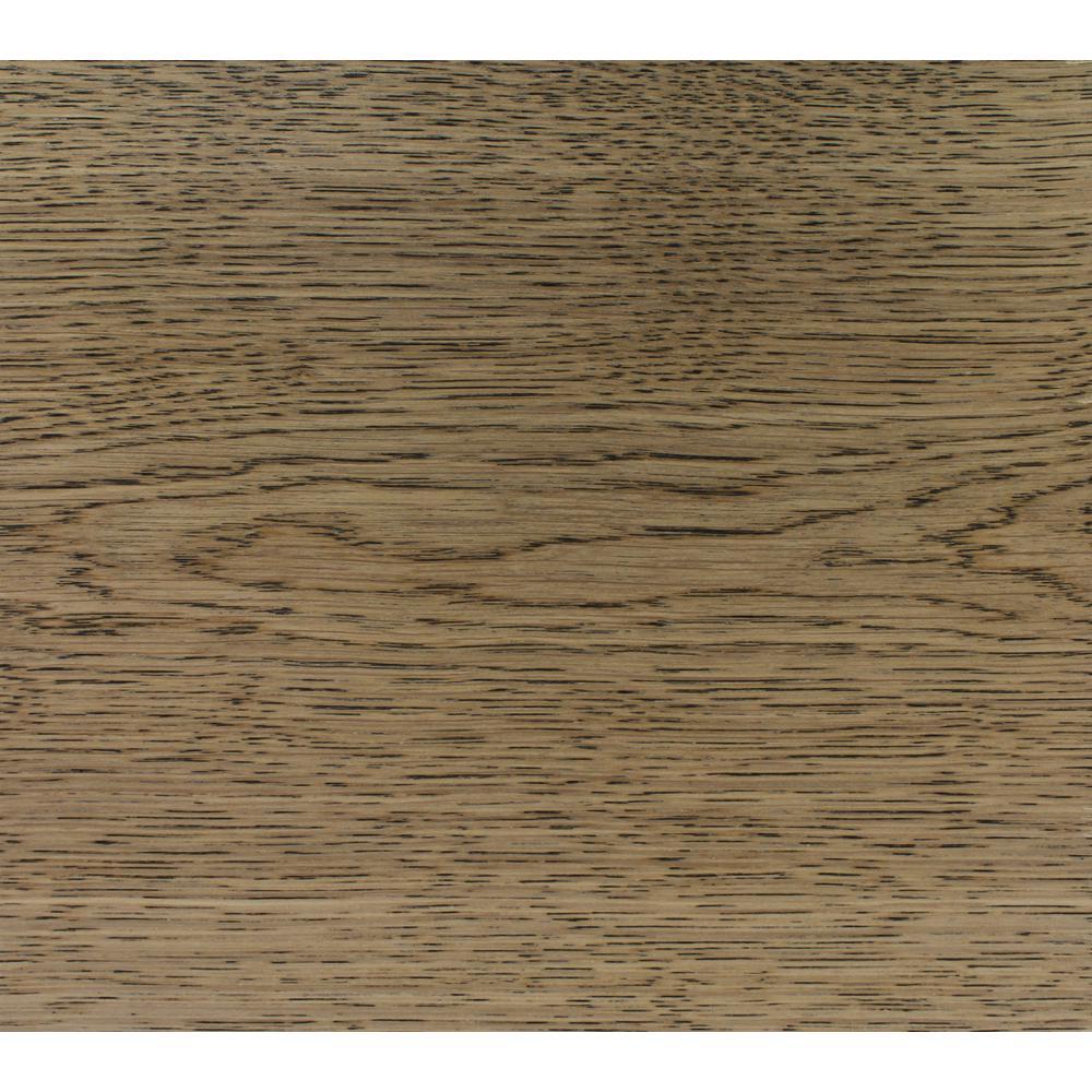 Take Home Sample-Classic Hardwoods White Oak Glacier Engineered Hardwood Flooring -7.5 in. x 8.5 in.