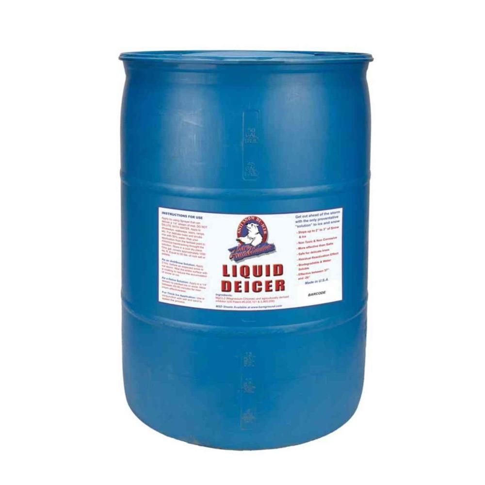 30 Gal. Liquid De-Icer Drum