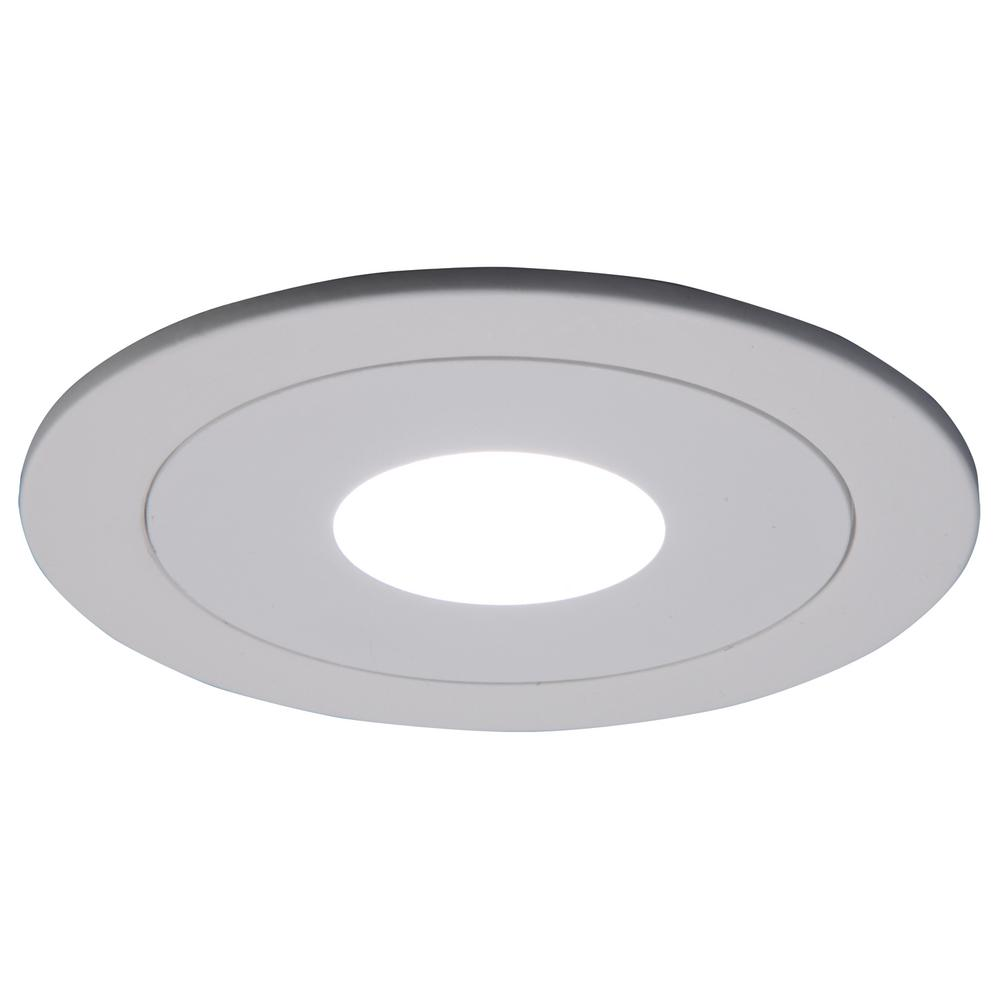 White Recessed Ceiling Light Pinhole Trim