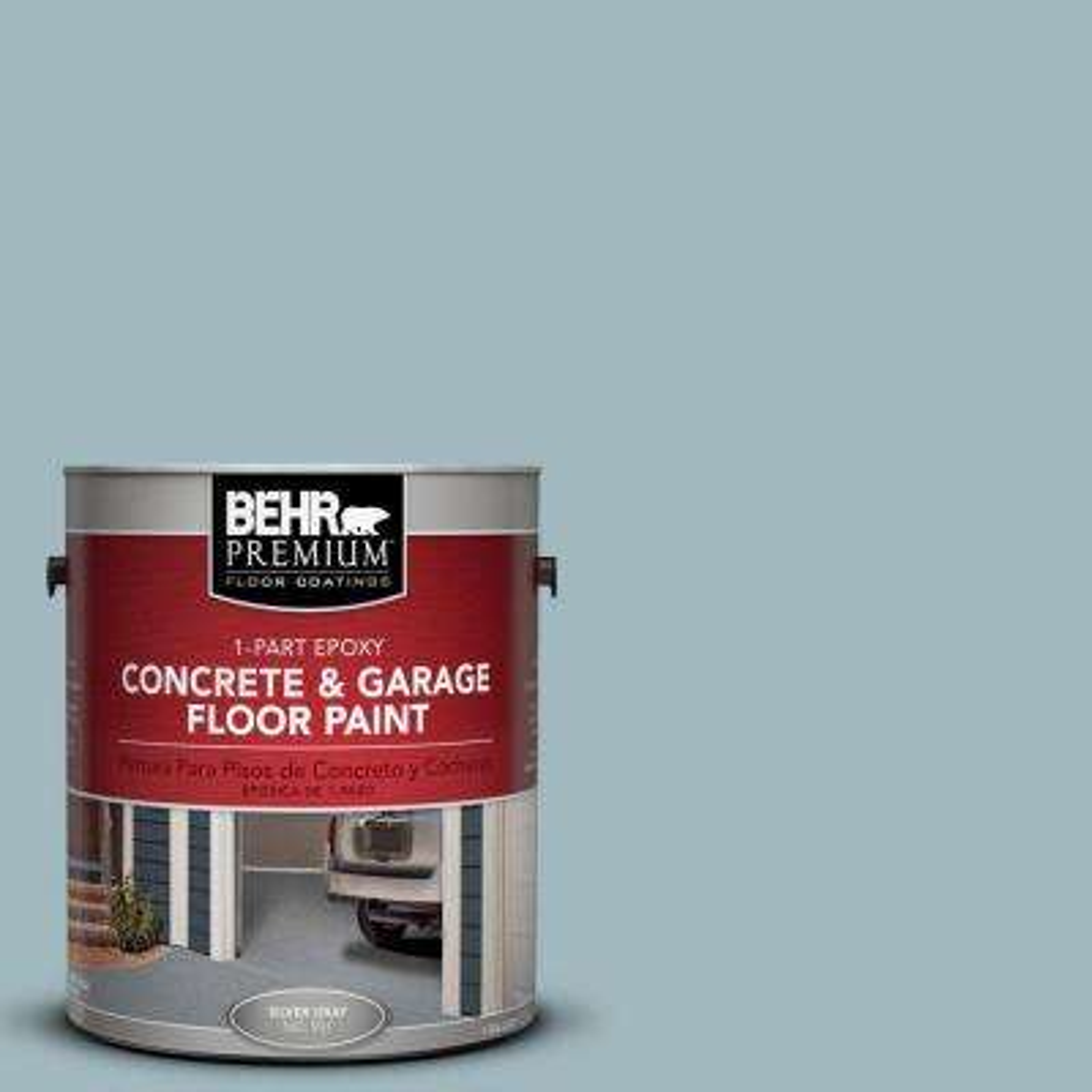 1-Gal. #PFC-51 Nautical Blue 1-Part Epoxy Concrete and Garage Floor Paint