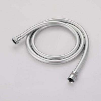 PVC Hand Held Shower Hose For Shower System Flexible Replacement Hose Tank Lever in Silver