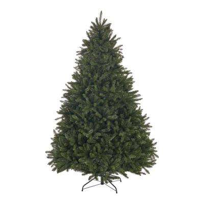 7 ft. Unlit Norway Spruce Hinged Artificial Christmas Tree