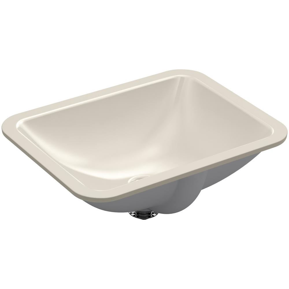 Kohler Caxton Rectangle Undermount Bathroom Sink In