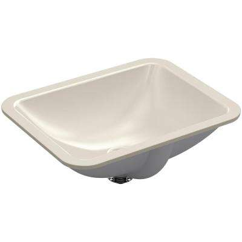 Caxton Rectangle Undermount Bathroom Sink in Sandbar