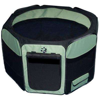 46 in. L x 46 in. W x 28 in. H Octagon Pet Pen with Removable Top