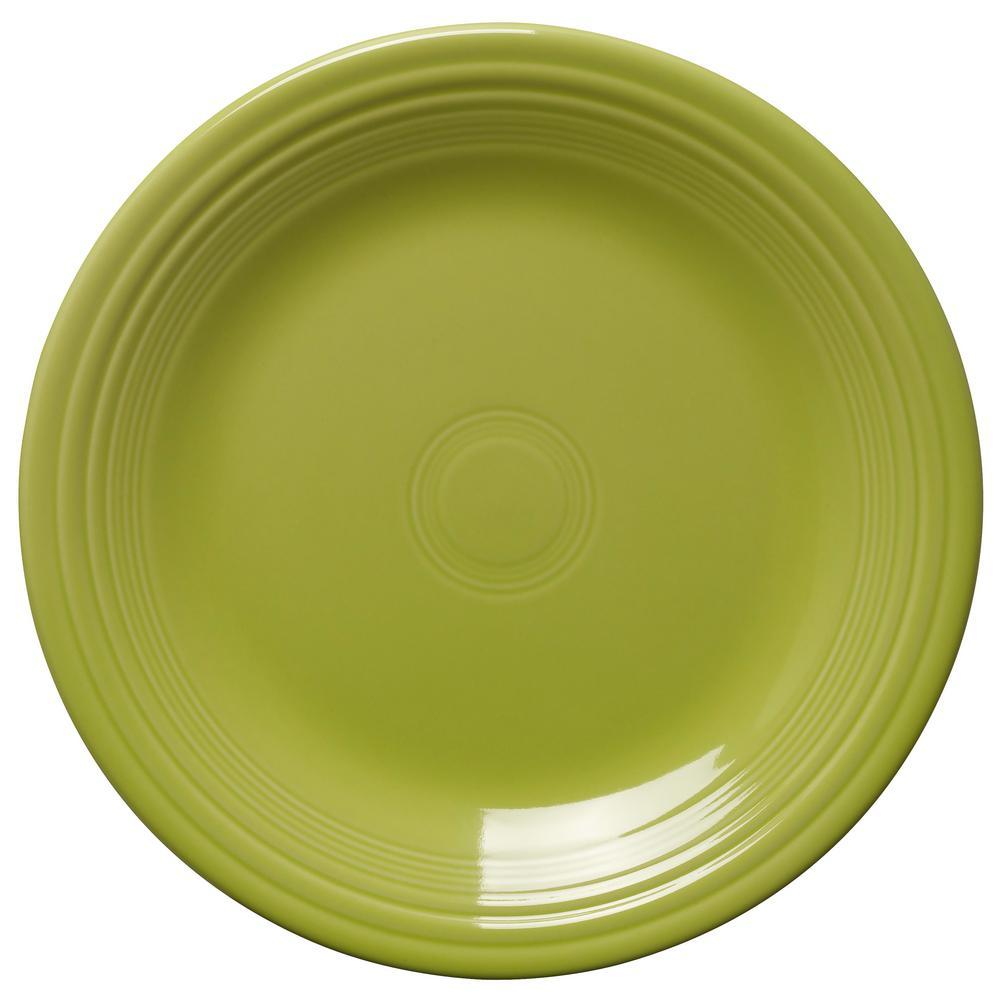 Fiesta Lemongrass Dinner Plate 466332u The Home Depot