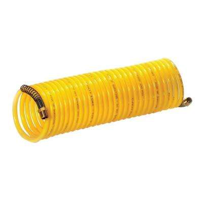 1/4 in. x 25 ft. 120 psi Nylon Recoil Air Hose