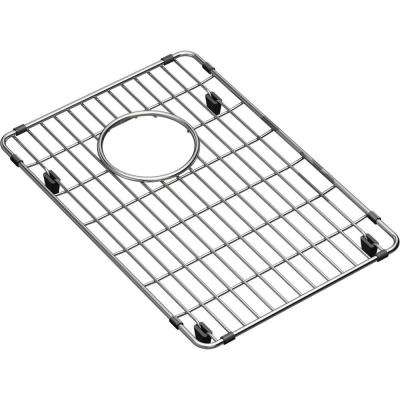 Crosstown Stainless Steel Kitchen Sink Bottom Grid  - Fits Bowl Size 12 in. x 17 in.