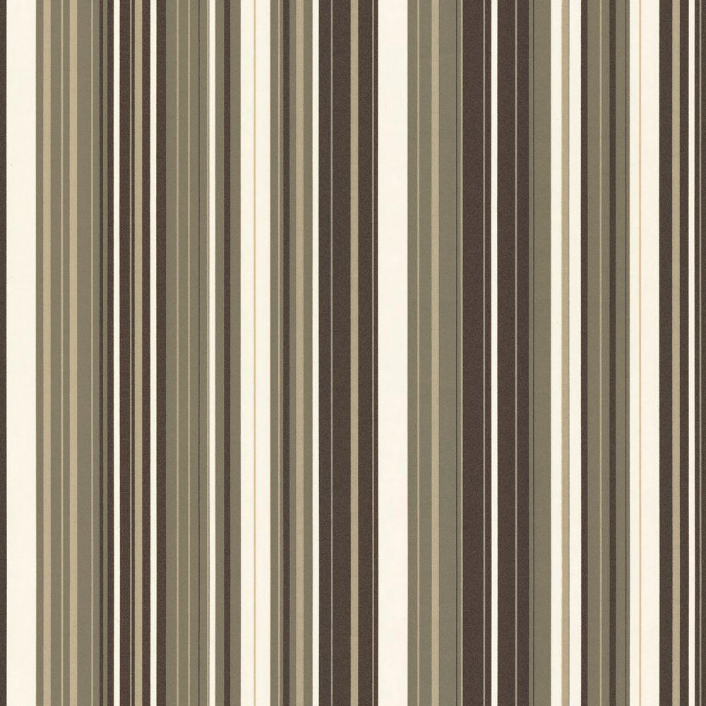 The Wallpaper Company 8 in. x 10 in. Jade Stripe Wallpaper Sample