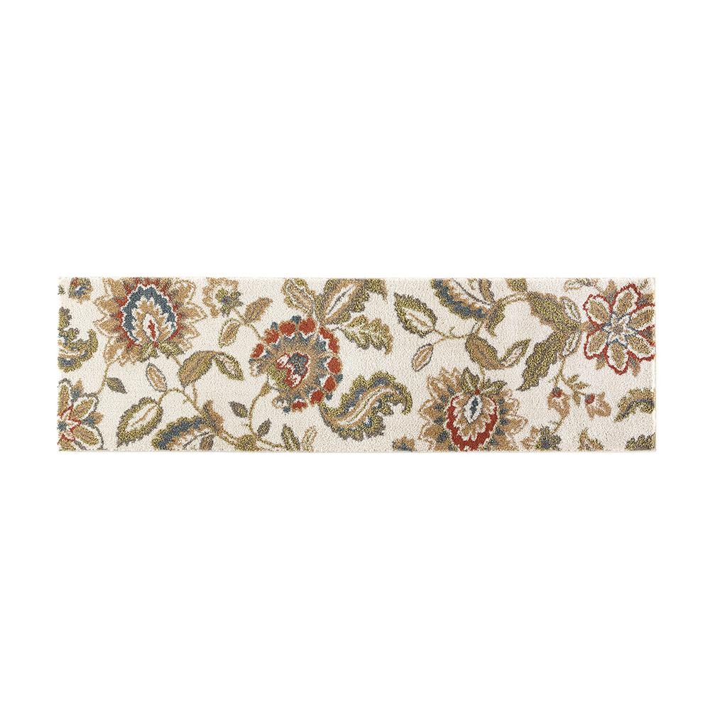 Rug Runner Home Depot: Home Decorators Collection Lucy Cream 2 Ft. X 7 Ft. Runner