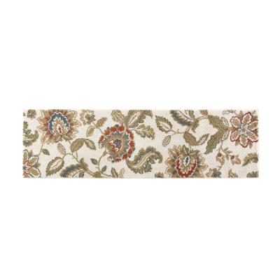Lucy Cream 2 ft. x 7 ft. Runner Rug