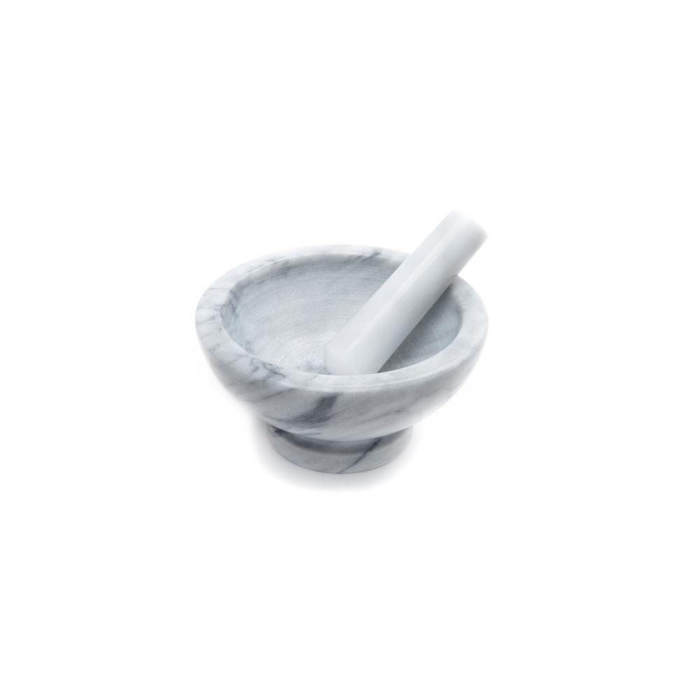 Lg Marble Mortar and Pestle
