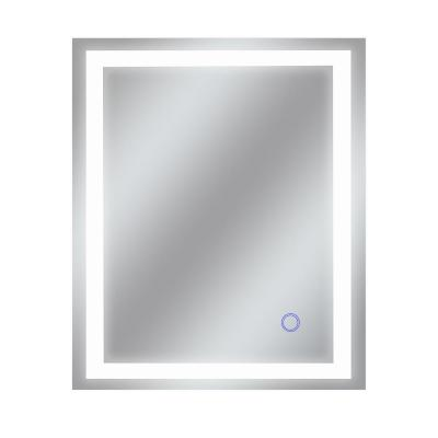 Edison Tri-Color 30 in. x 36 in. Single LED Wall Mounted Backlit LED Bathroom Mirror