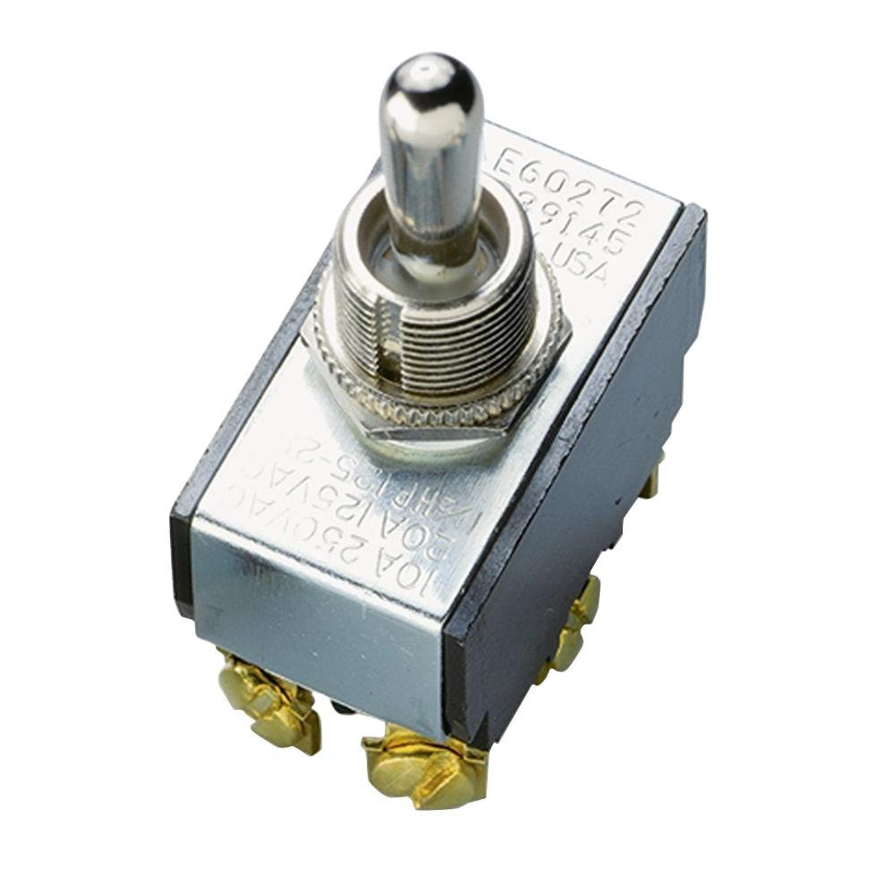 Gardner Bender 20 Amp Double-Pole Toggle Switch (1-Pack)