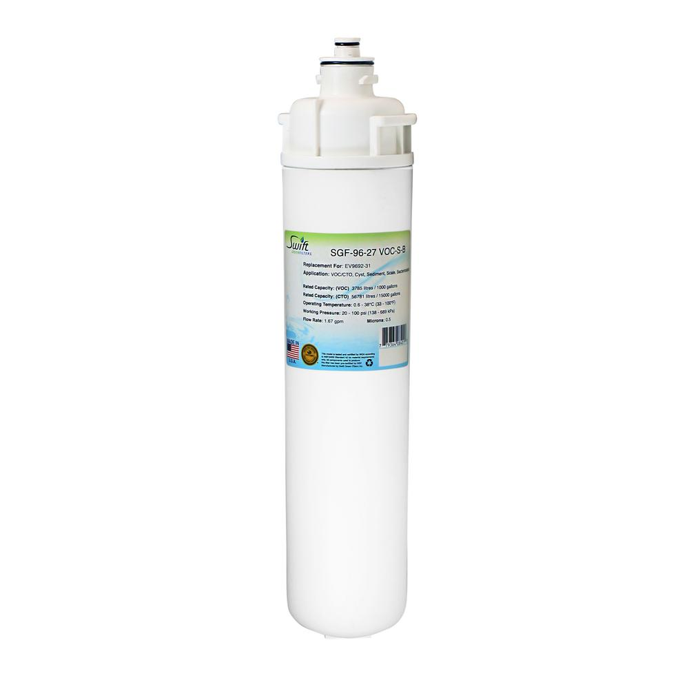 Swift green filters everpure ev9692 31 replacement for Everpure water filter review
