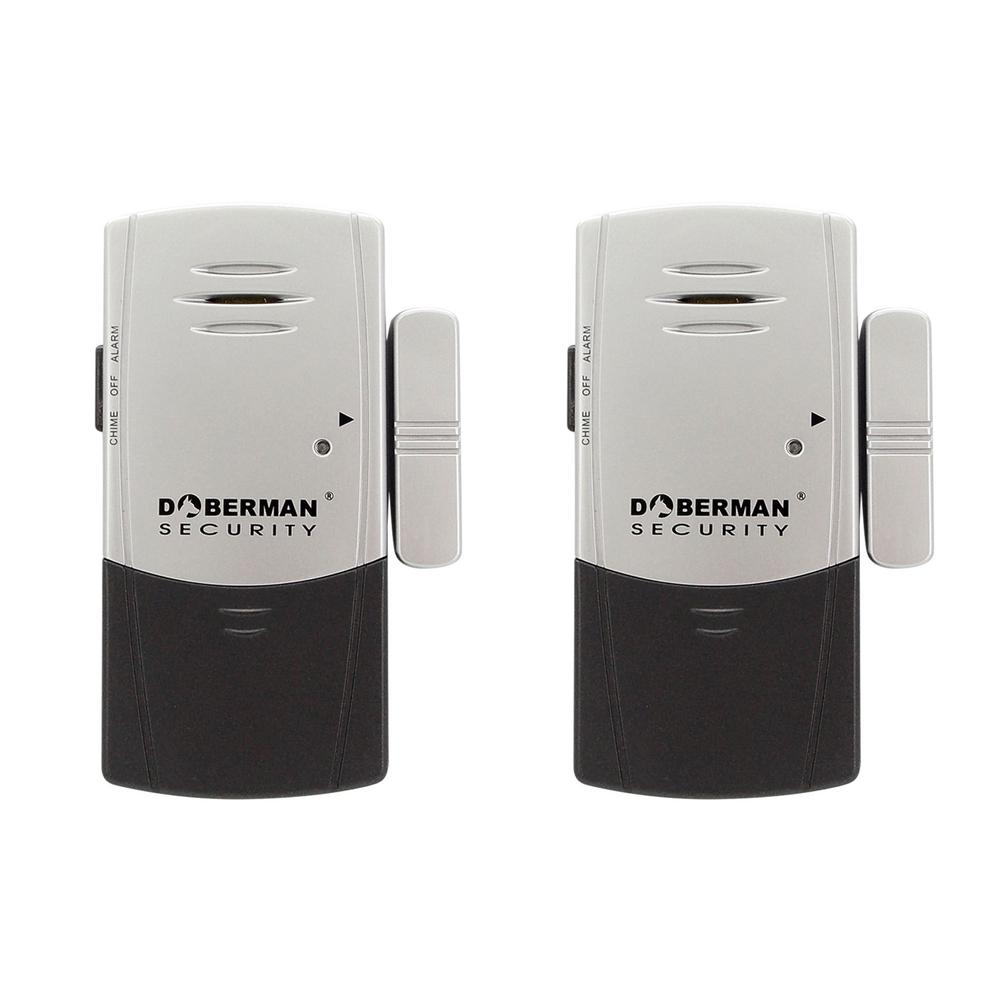 Door and Window Defender Wireless Alarm with Chime (2-Pack)
