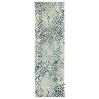 Ceneri Ice 3 ft. x 8 ft. Runner Rug