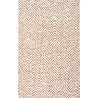 Nuloom 8 X 10 Jute Area Rugs Rugs The Home Depot