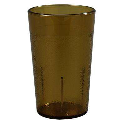 5 oz. SAN Plastic Stackable Tumbler in Amber (Case of 72)