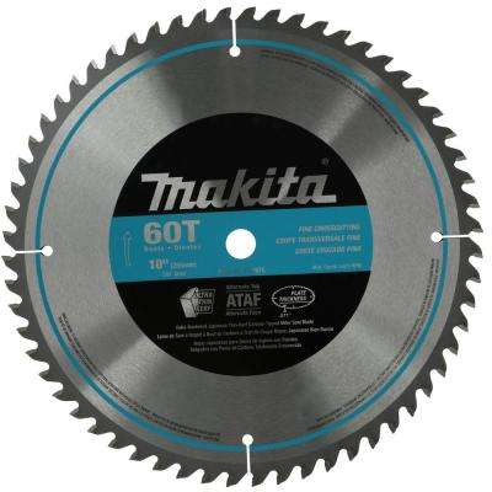 10 in. x 5/8 in. 60-Teeth Micro-Polished Miter Saw Blade