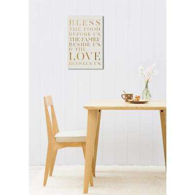 36 in. x 24 in. 'Bless This Family' by Oliver Gal Printed Framed Canvas Wall Art