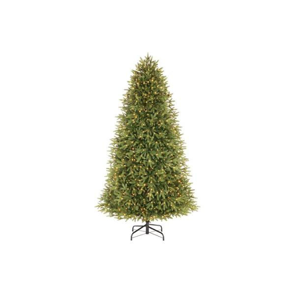 7.5 ft Jackson Noble Fir LED Pre-Lit Artificial Christmas Tree with 1200 Color Changing Micro Dot Lights