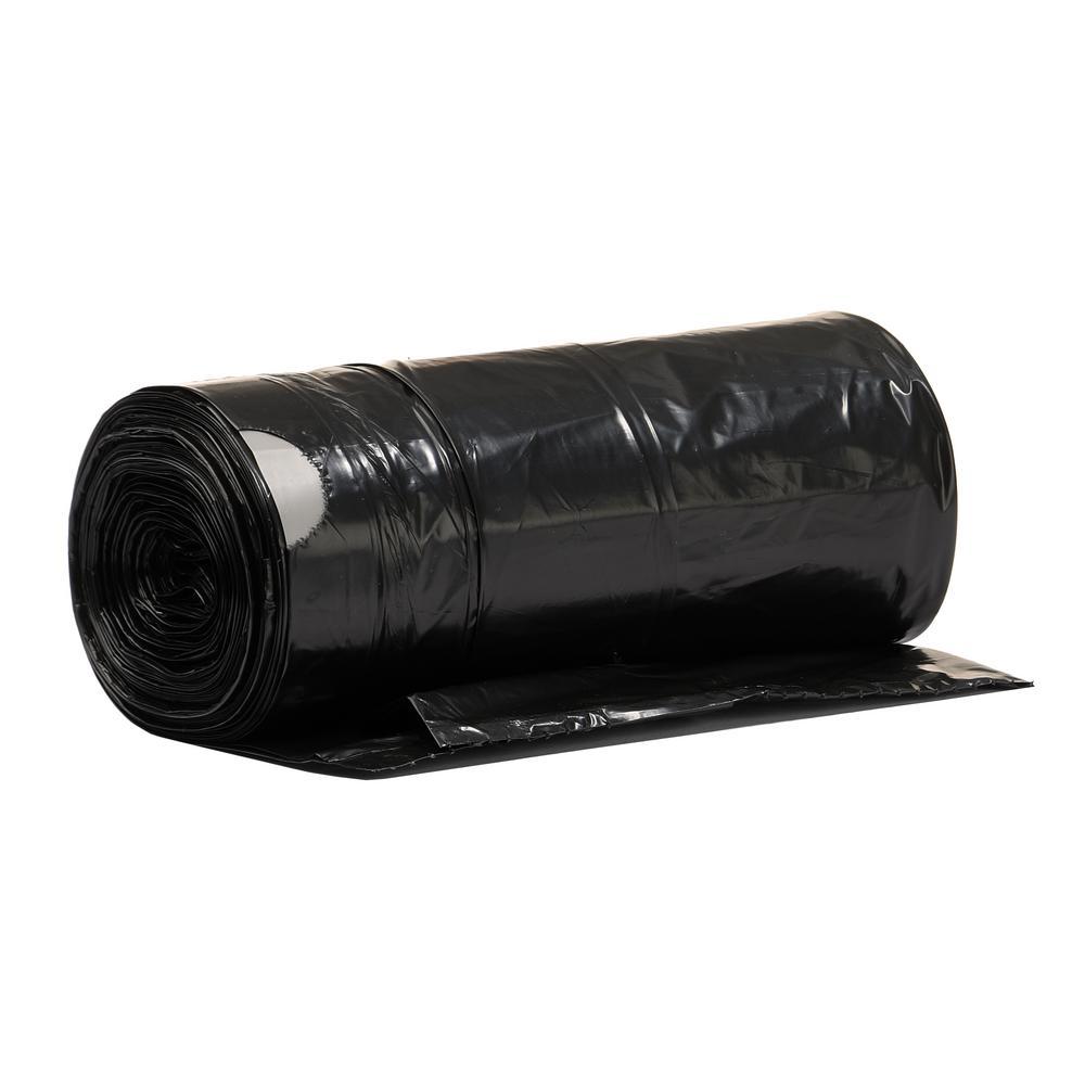 18 Gal. Black Extra Tall Drawstring Trash Bag (144-Count)