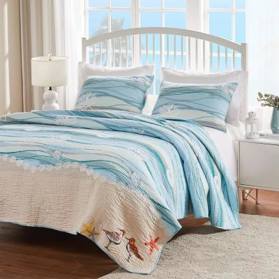 Maui 3-Piece Multi King Quilt Set