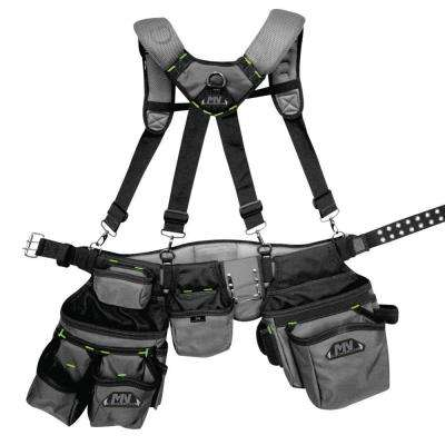 Ballistic Tool Rig with Suspenders