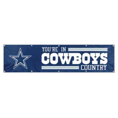 Dallas Cowboys Giant 8 ft. x 2 ft. Banner