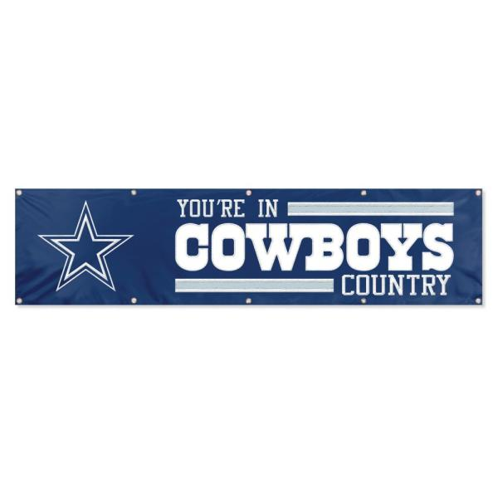 Dallas Cowboys Giant 8 ft. x 2 ft. Banner