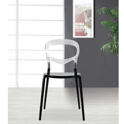 Evo Acrylic Transparent Dining Chair