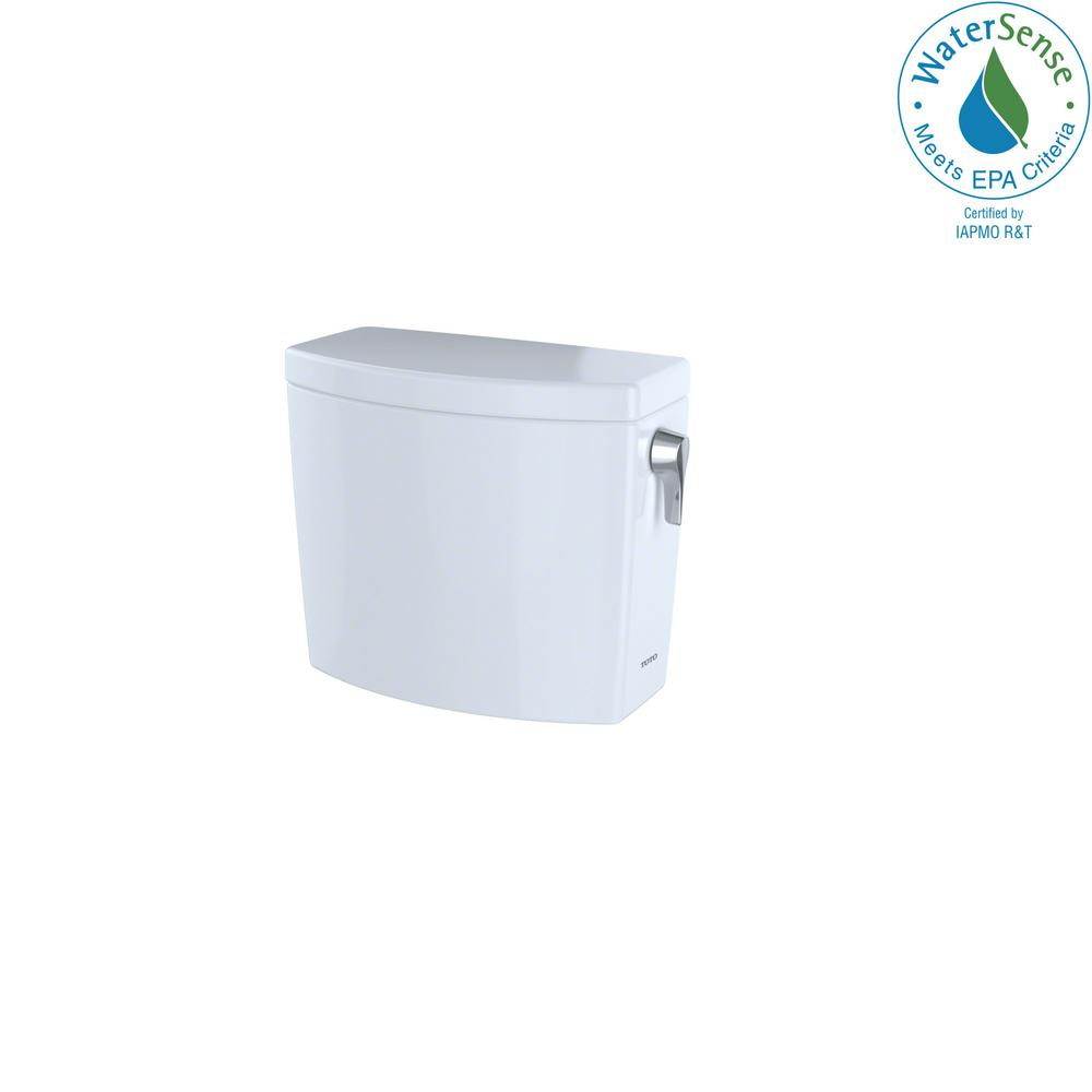 TOTO Drake II 1.0 GPF Single Flush Toilet Tank Only with Right Hand ...