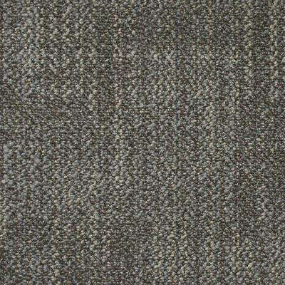 Carnegie Commercial Rock Gray Loop 19.7 in. x 19.7 in. Carpet Tile (20 Tiles/Case)