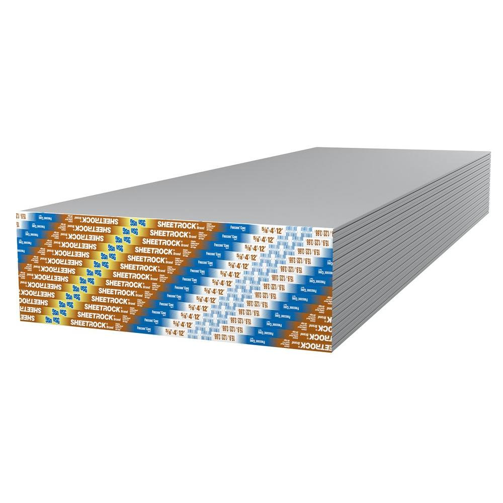 Sheetrock 5/8 In. X 4 Ft. X 12 Ft. Smooth Wall