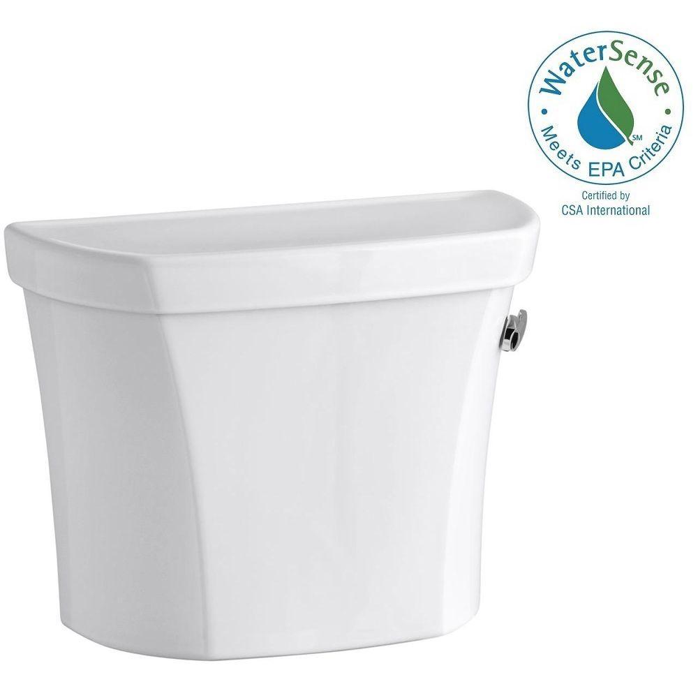 KOHLER Wellworth 1.28 GPF Single Flush Right-Hand Toilet Tank Only ...