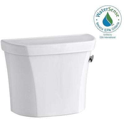 Wellworth 1.28 GPF Single Flush Right-Hand Toilet Tank Only with Insuliner Tank Liner in White