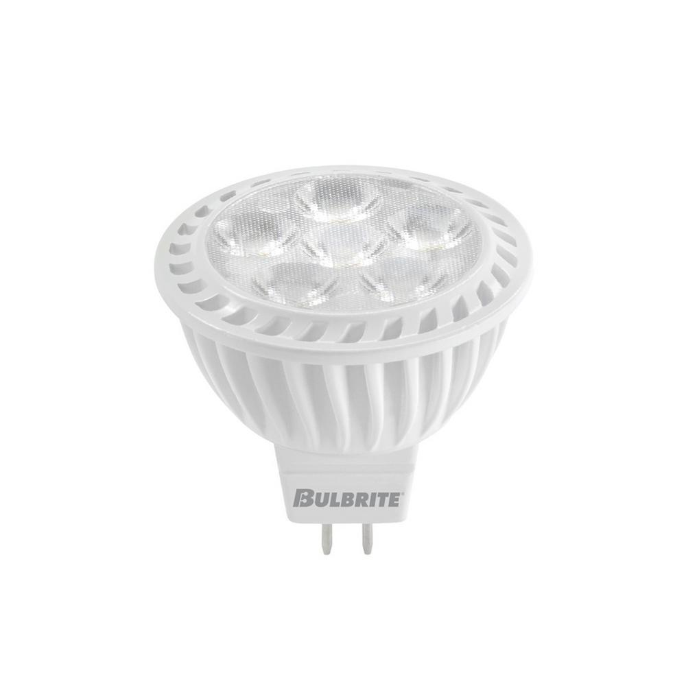 Mr16 Led Light Bulbs 50w: Bulbrite 50W Equivalent Soft White Light MR16 Dimmable LED