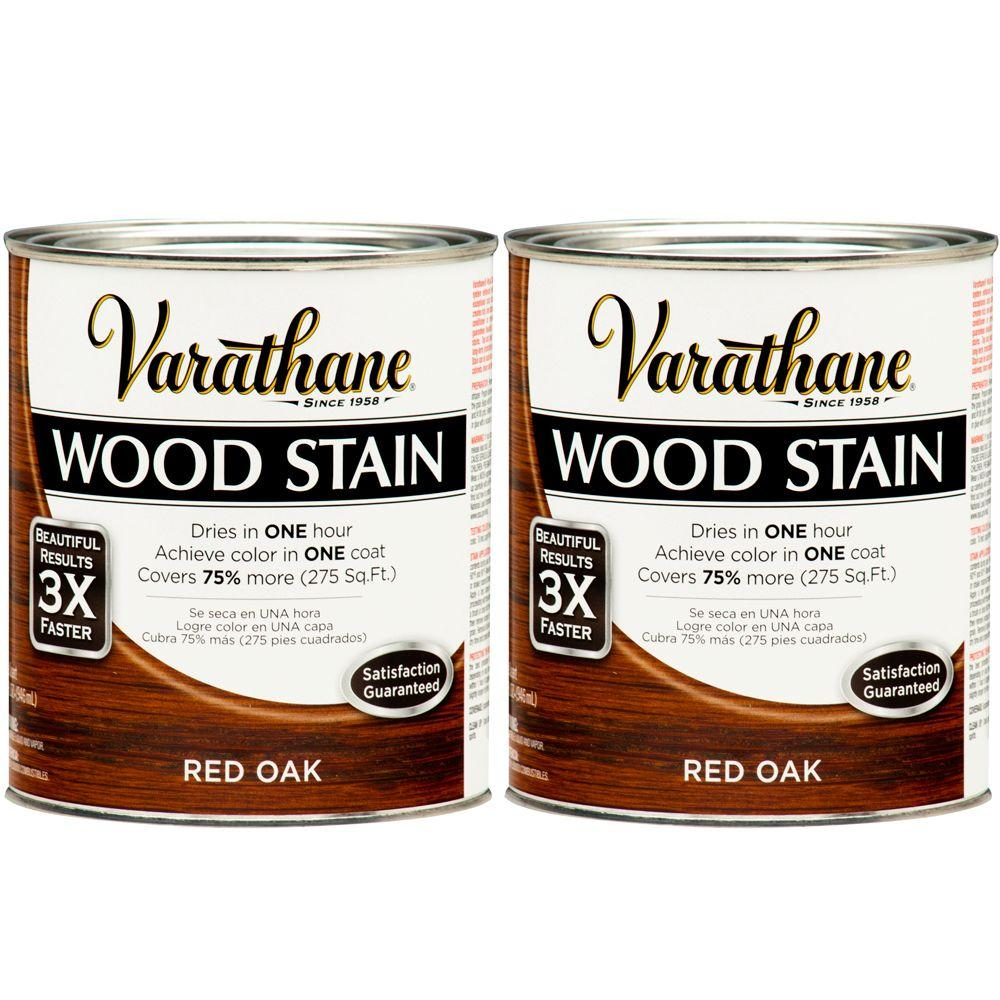 Varathane 1 Qt. Red Oak Wood Stain (2-Pack)-DISCONTINUED