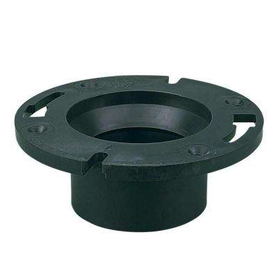 4 in. x 3 in. ABS Closet Flange