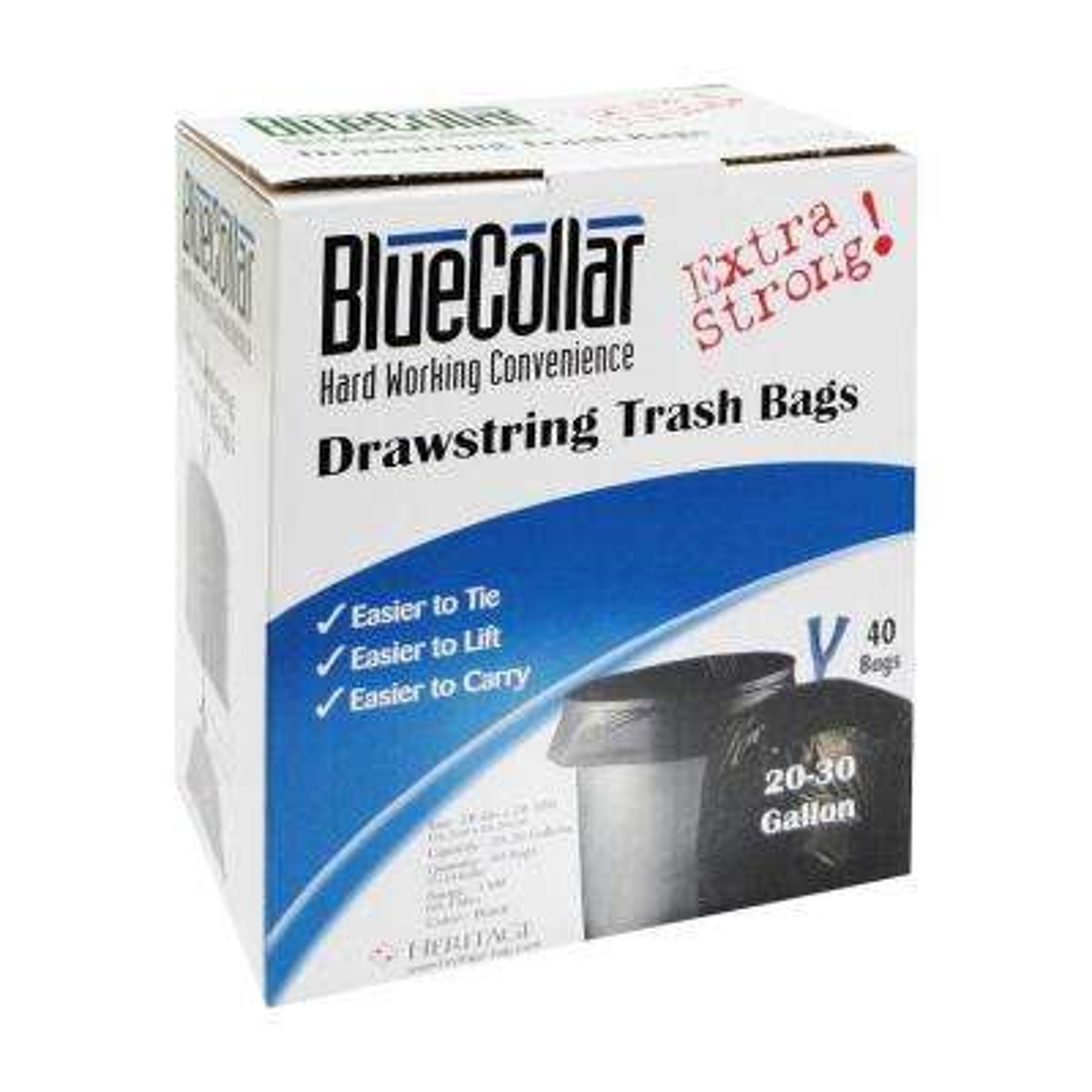 30 Gal. Super Tough Trash Bags (40 Per Box)