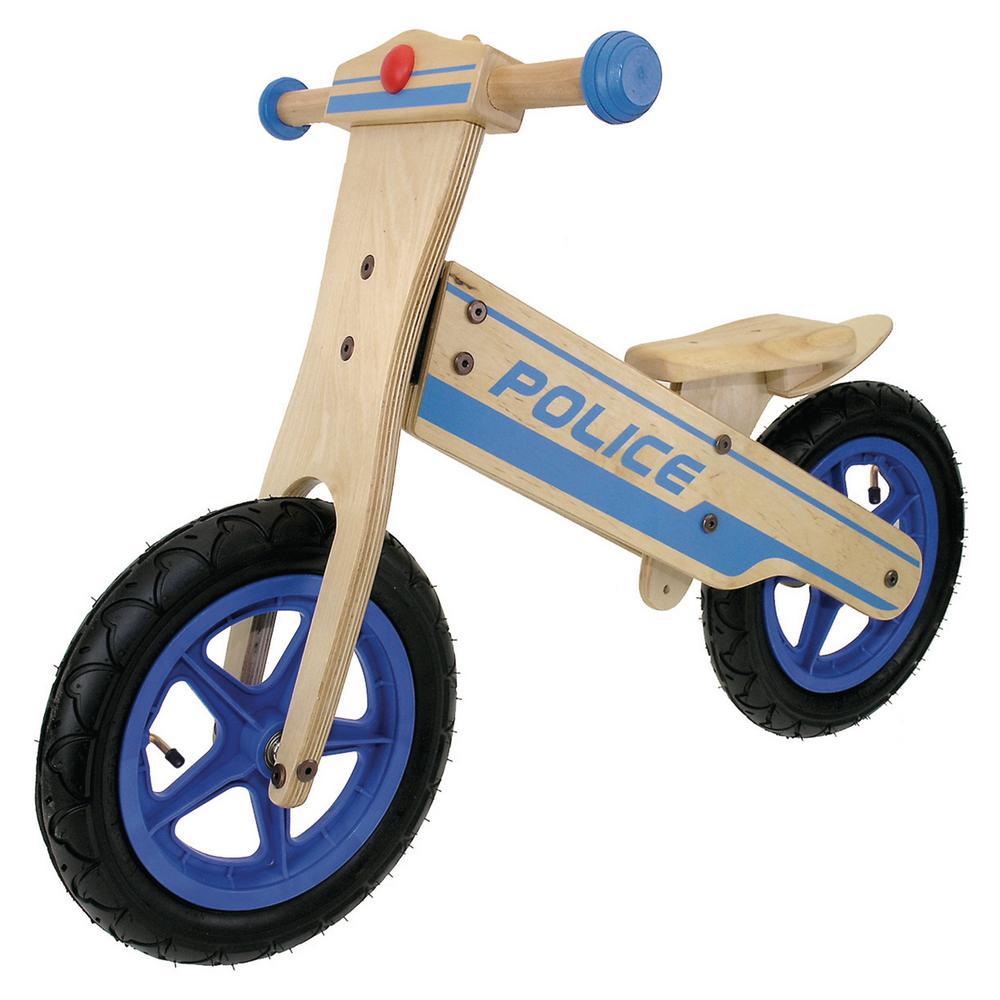 12 in. Wooden Police Balance/Running Bike