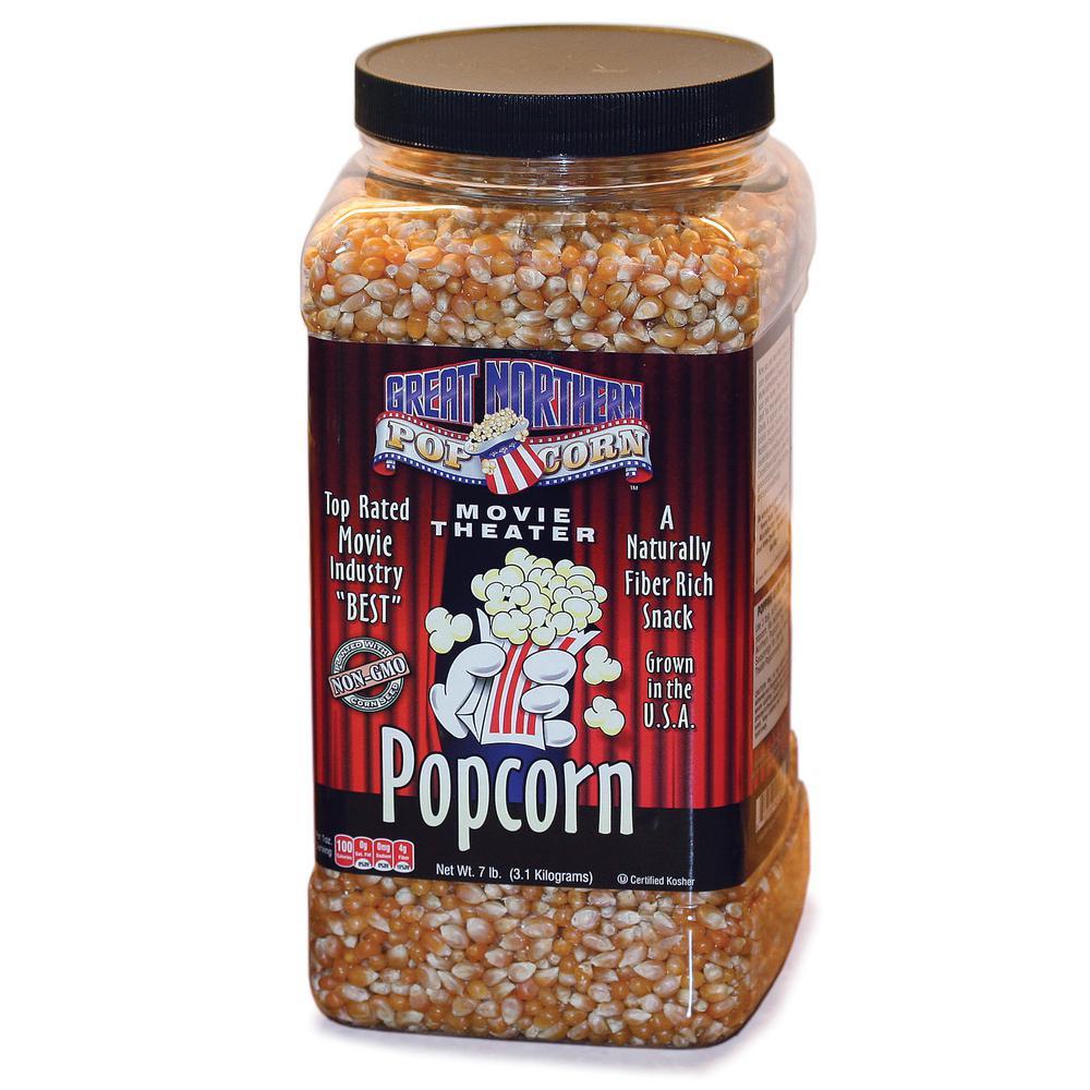 7 lb. Premium Yellow Gourmet Popcorn Jug